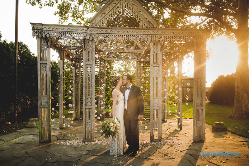 Rachel And Jason S Terrain At Styers Wedding